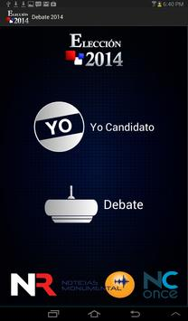 Debate Repretel 2014 poster