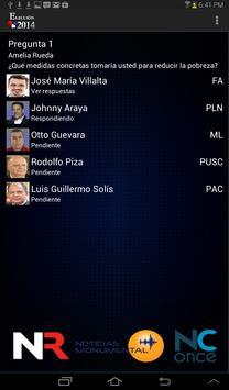 Debate Repretel 2014 apk screenshot