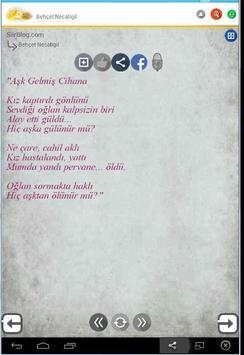 Behçet Necatigil Şiirleri apk screenshot
