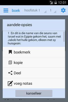The Afrikaans Bible OFFLINE apk screenshot