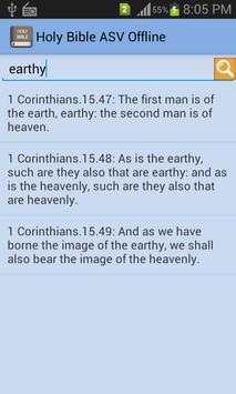 Holy Bible ASV Offline apk screenshot