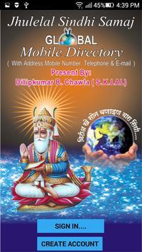 Jhulelal SindhiSamaj Directory poster