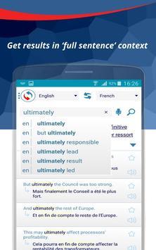 Reverso Translation Dictionary apk screenshot