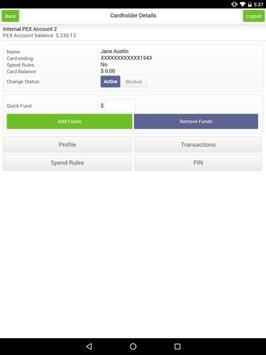 PEX Admin apk screenshot