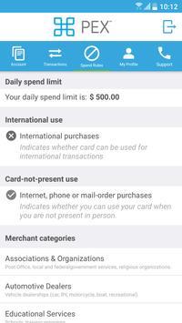 PEX Card apk screenshot