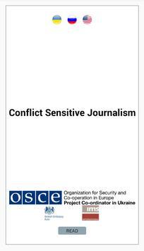 Conflict Sensitive Journalism poster