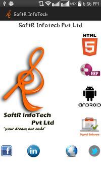SoftR InfoTech poster