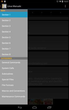 Linux Manuals apk screenshot