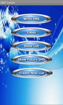 SMS Caster Free apk screenshot