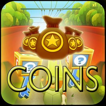 Unlimited coins Key for Subway apk screenshot