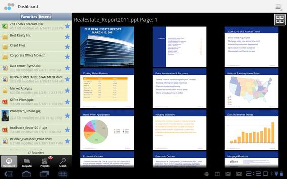 Soonr Workplace for Android apk screenshot