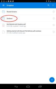 Sookasa | Dropbox Encryption apk screenshot