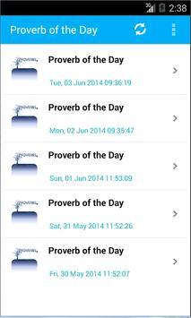 Bible Proverbs apk screenshot