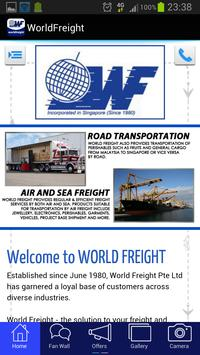World Freight poster