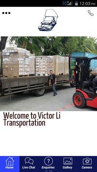 Victor Li Transportation poster