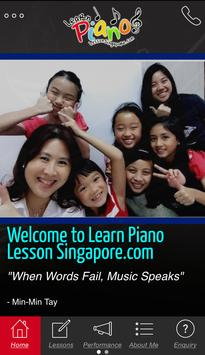 Learn Piano Lesson poster