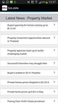 Hot Singapore Property apk screenshot
