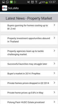 Landed Properties Singapore apk screenshot
