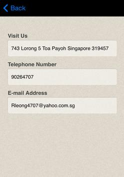 Rebecca Leong apk screenshot