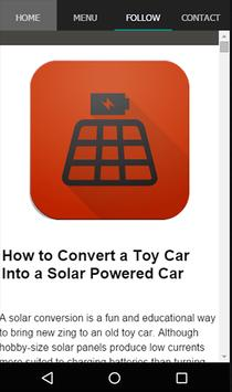 Solar Battery Charger Guide apk screenshot