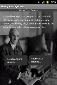 Henry Ford Quotes apk screenshot