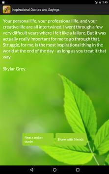 Inspirational Quotes & Sayings apk screenshot