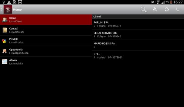 Blix CRM apk screenshot