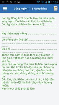 Bài Văn Khấn Việt apk screenshot