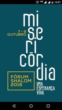 Fórum Shalom 2016 poster