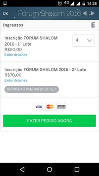 Fórum Shalom 2016 apk screenshot