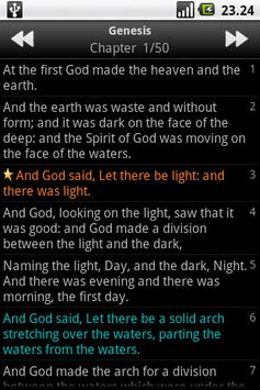 Holy Bible (BBE) apk screenshot