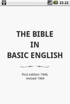 Holy Bible (BBE) poster