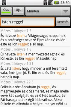 Szent Biblia (Holy Bible) apk screenshot