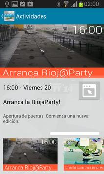 RiojaParty 2014 apk screenshot