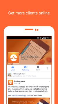 Sombrero e-marketing trainer apk screenshot