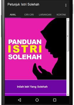 Petunjuk Istri Solehah poster