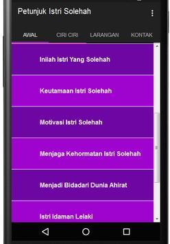 Petunjuk Istri Solehah apk screenshot