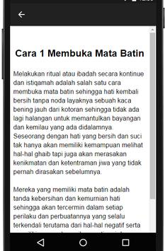 Rahasia Mata Batin apk screenshot