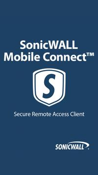 SonicWALL Mobile Connect poster