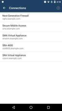 SonicWALL Mobile Connect apk screenshot