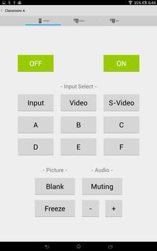 Projector Remote apk screenshot