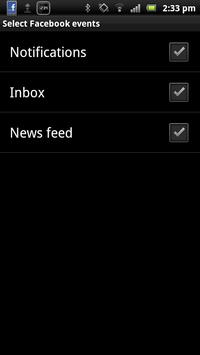 Smart extension for Facebook apk screenshot