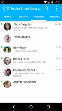 Telstra Smart Messenger poster
