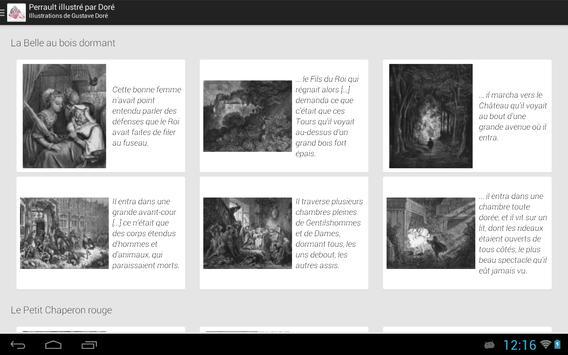 Contes de Perrault Illustrés apk screenshot