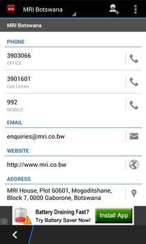Botswana SOS Numbers apk screenshot