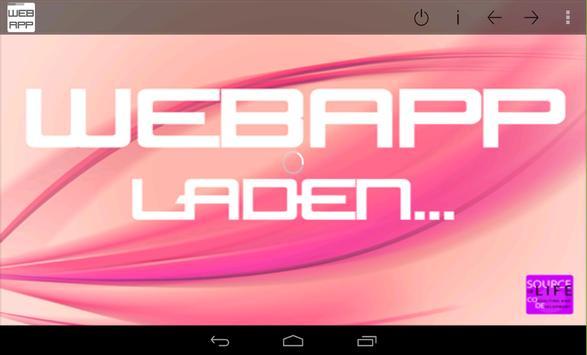 WebApp apk screenshot