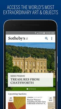 Sotheby's poster