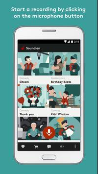 Soundian Audio Messaging poster