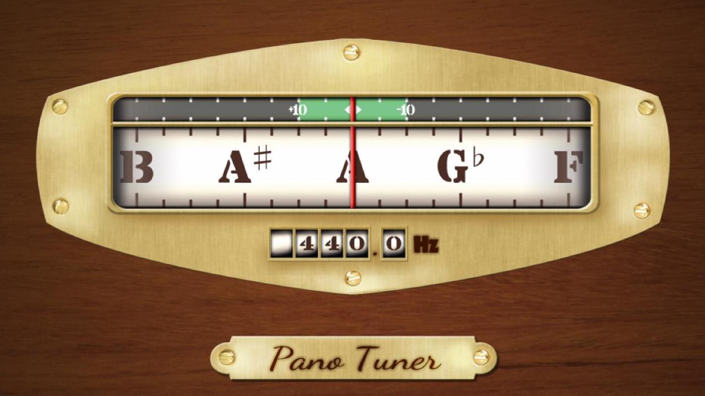 pano tuner chromatic tuner apk download free music audio app for android. Black Bedroom Furniture Sets. Home Design Ideas