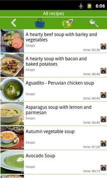 Soup recipes apk screenshot